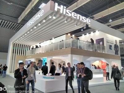 Hisense brilha no WMC de 2018