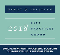 Frost & Sullivan recognizes Form3 with the 2018 European Customer Value Leadership Award for it's comprehensive and unique Payments-as-a-Service solution, which is a native-cloud-based platform.