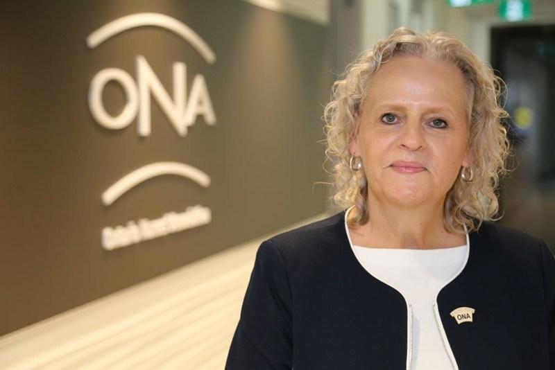 Vicki McKenna, RN, Ontario Nurses' Association President (CNW Group/Ontario Nurses Association)