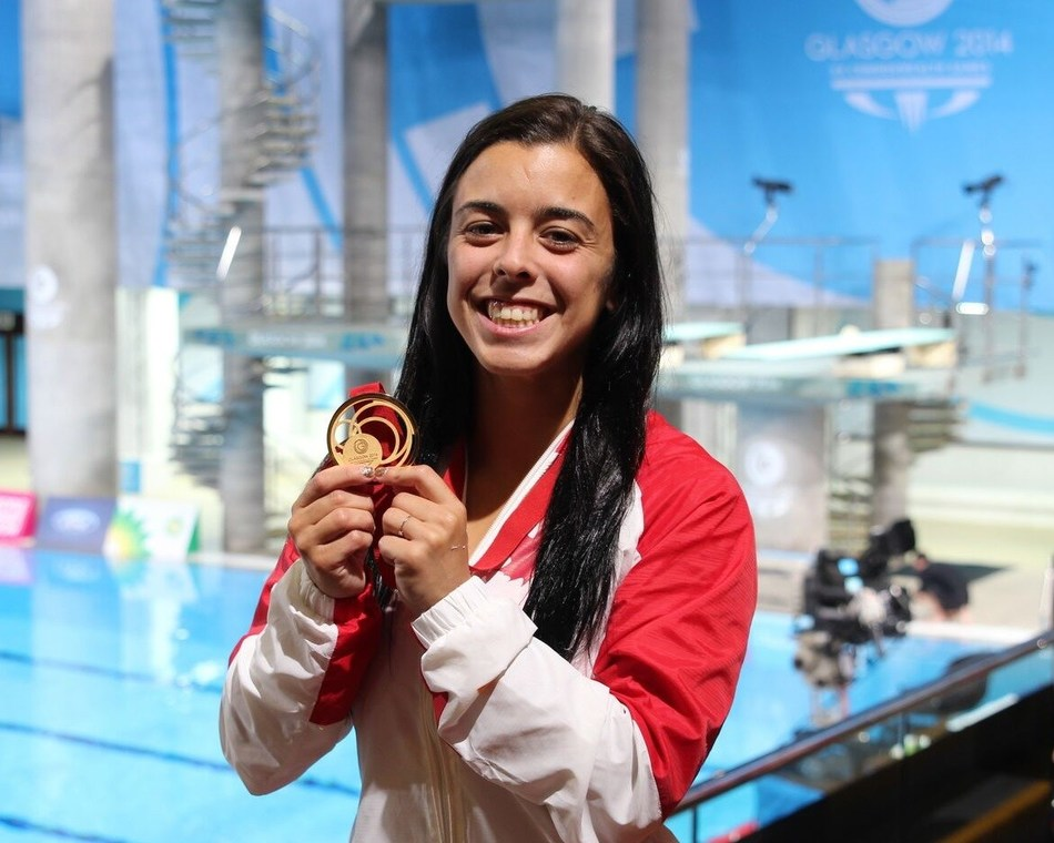 Meaghan Benfeito (CNW Group/Commonwealth Games Association of Canada)