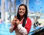 Two-time Commonwealth gold medallist Meaghan Benfeito named Canadian Team Flagbearer in Gold Coast!