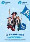 Affiche promotionnelle (Groupe CNW/Société des traversiers du Québec)