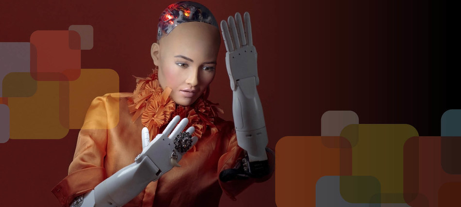 Sophia the Humanoid Robot kicks off Discovery 2018 with Canadian debut (CNW Group/Ontario Centres of Excellence Inc.)