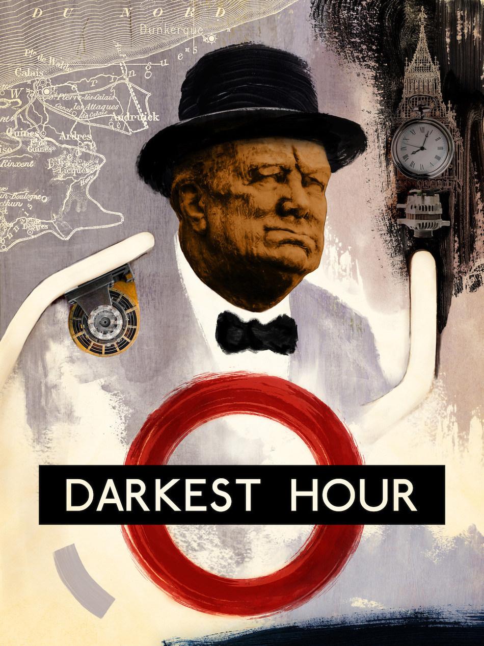 Darkest Hour - inspired by Richard Hamilton, designed by Alice Li/Shutterstock
