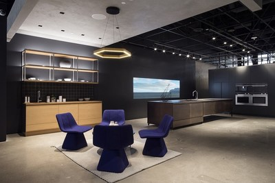 The Fisher & Paykel Experience Center is designed to allow guests to view the full range of premium appliances in an environment designed to inspire and ignite creativity.? Photography Credit: Chloe Crespi