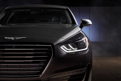 2019 Genesis G90 Vanity Fair Special Edition - Stardust: This G90 sedan practically sparkles under the award show lights, with deep flakes of dark gray.