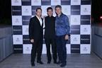 Boman Irani, Percy Chowdhry and Jimmy Mistry (PRNewsfoto/Rustomjee)