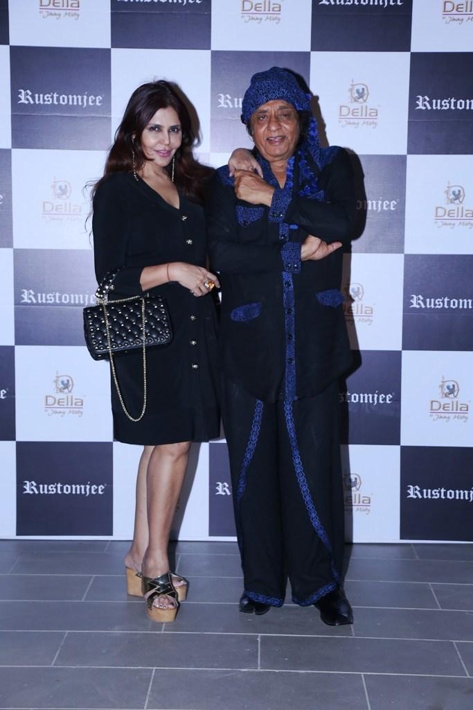 Nisha Jamwal and Ranjeet (PRNewsfoto/Rustomjee)
