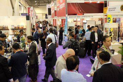 Wide display of exhibits at ProWine Asia 2016 attracted visitors from all over the world