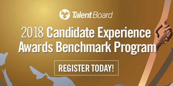 2018 Candidate Experience Awards Benchmark Program