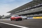 Jaguar I-PACE Charges Ahead in EV Race (PRNewsfoto/Jaguar Land Rover)