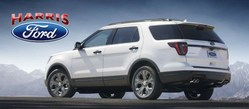 Schedule a test drive of a new 2018 Ford Explorer at Harris Ford of Newport, AR.
