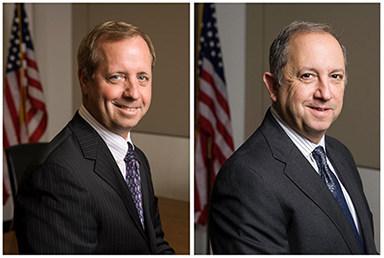 (L) Brad Antle, CEO and (R) Tom Ferrando, President of Salient CRGT