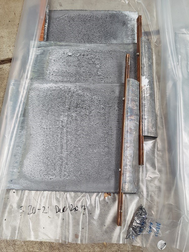 Figure 1 – Lead Cathode produced from the Pilot Plant (CNW Group/LeadFX Inc.)