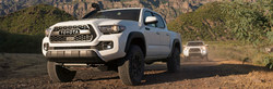 The 2019 Toyota TRD Pro Series has been unveiled, and the folks at Arlington Toyota have already begun giving details about models like the Tundra pictured here.