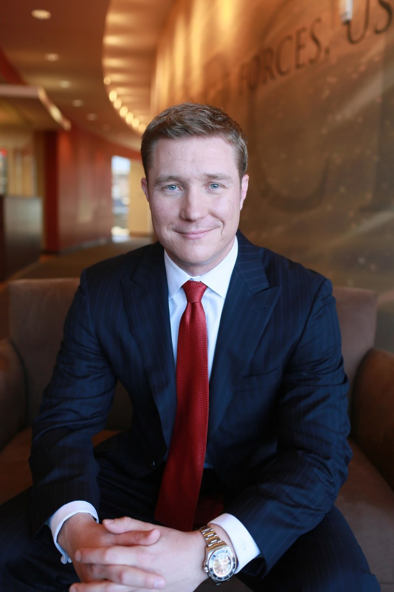 First Financial Resources' new Chairman, John McDonough.