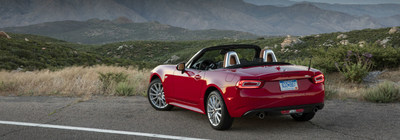 The 2017 Fiat 124 Spider is available now at Palmen Fiat.