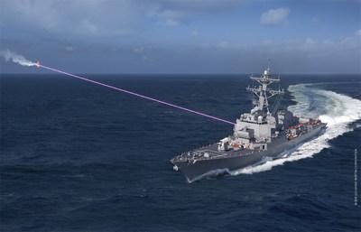 Lockheed's HELIOS laser weapon system brings triple threat