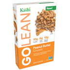 Kashi® Launches New GOLEAN® Peanut Butter Crunch Cereal Just In Time For Peanut Butter Lover's Day