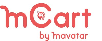 mCart Logo (PRNewsfoto/Mavatar Technologies)