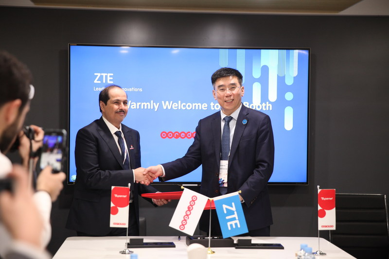 ZTE teams up with Ooredoo Group to lead 5G commercialization in MENA (PRNewsfoto/ZTE Corporation)