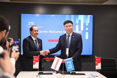ZTE s'associe à Ooredoo Group pour diriger la commercialisation de la 5G dans le MENA (PRNewsfoto/ZTE Corporation)