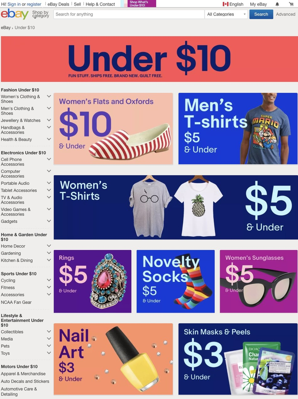 Score Amazing $10 and Under Finds with a New Shopping