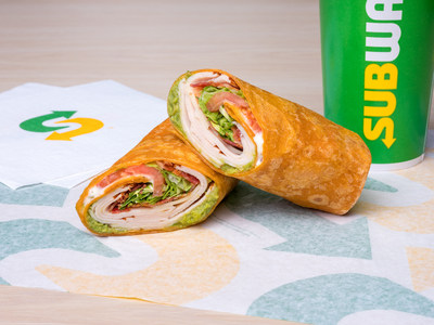 Subway's new line of Signature Wraps is the brand's biggest core menu addition in the U.S. since the introduction of Rotisserie-style Chicken in 2016. The Signature Wraps feature three bold flavors, including the Turkey, Bacon & Guacamole served in a Tomato Basil wrap.