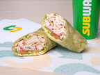 Subway® launches its Signature Wraps collection in all its U.S. restaurants across the country. The collection features three bold flavors, including the Savory Rotisserie-Style Chicken Caesar folded into a delicious Spinach wrap.