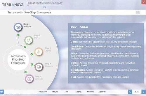 Raising Security Awareness Effectively (CNW Group/Terranova Worldwide Corporation)