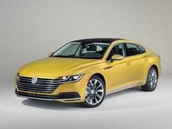 Volkswagen reveals 2019 VW Arteon mid-size car.