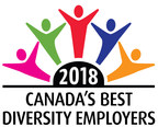 2018 Canada's Best Diversity Employers (CNW Group/Mediacorp Canada Inc.)
