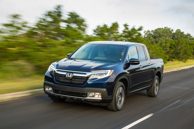 The 2019 Honda Ridgeline goes on sale March 6, 2018.