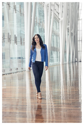 Tessa Virtue (Groupe CNW/Nivea)