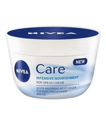 NIVEA Care Nourishing Cream (CNW Group/Nivea)