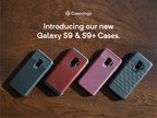 Caseology Cases Offer the Ultimate In Samsung Galaxy S9 & S9+ Protection - Featured above: Vault (Black), Legion (Burgundy), Vault (Burgundy), & Parallax (Black)