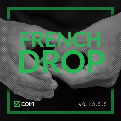 """The version """"French Drop"""" is named after one of the most fundamental sleights of hand in coin magic which Zcoin sees as symbolizing the mathematical wizardry behind zero-knowledge proofs."""