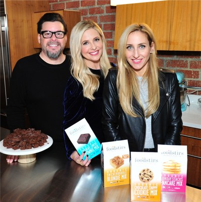 Foodstirs was co-founded by successful entrepreneurs Galit Laibow, Greg Fleishman and actress and author Sarah Michelle Gellar. Foodstirs is remaking the baking mix category with USDA Organic and Non-GMO Project Verified baking mixes that are superior on every level. The brand meticulously creates its recipes based on four core principles: ultra-sustainability, easy-to-make, affordably priced and incredibly delicious from-scratch taste. In addition to regenerative and direct-sourced ingredients,