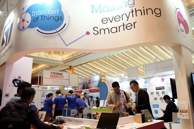 CommunicAsia -- Making everything smarter