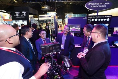 Plenty of lights, camera and action at BroadcastAsia