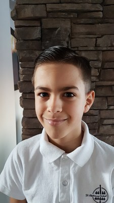 This year, the grand prize winner of the Meaning of Home contest is nine-year-old Ryan Mota, from Winnipeg, Manitoba (CNW Group/Genworth MI Canada)