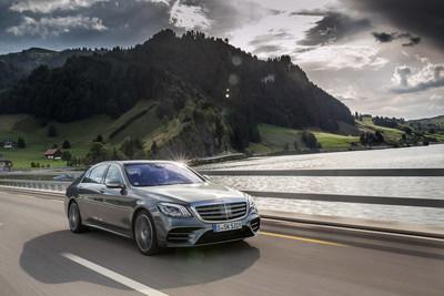 MY18 S-Class Sedan (European model shown). (CNW Group/Mercedes-Benz Canada Inc.)