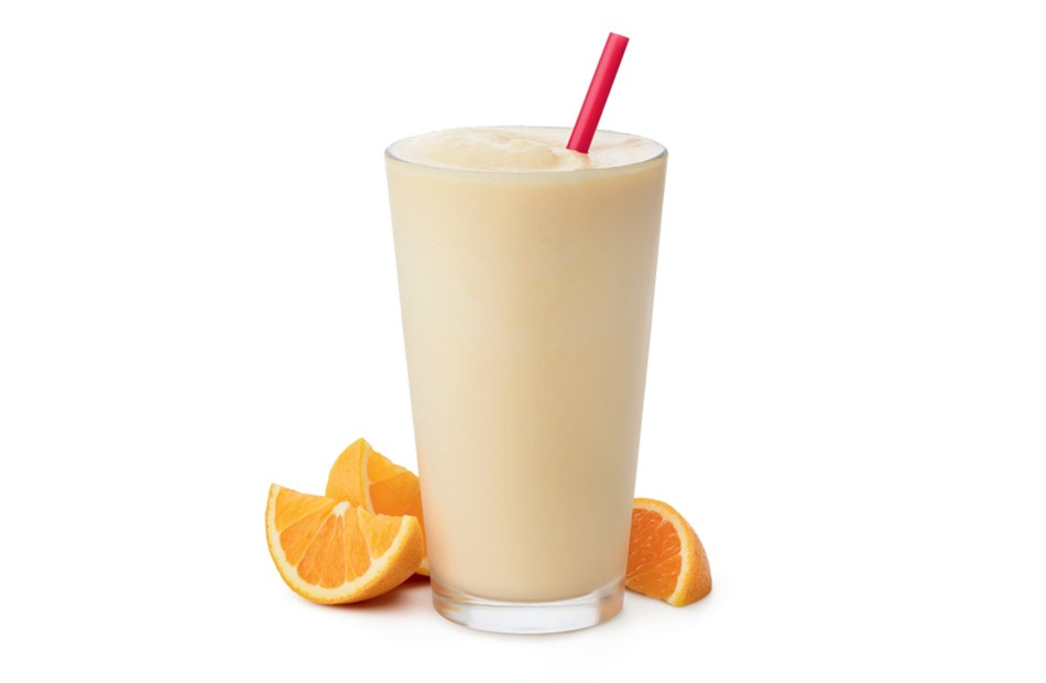 Frosted Sunrise is a combination of Chick-fil-A's signature Icedream® and Simply Orange® Juice.