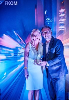 David Watkins, Utopia Global Regional Director, APJ, receives SAP® APJ Partner Excellence Award 2018 for SAP Solution Extensions at SAP FKOM 2018