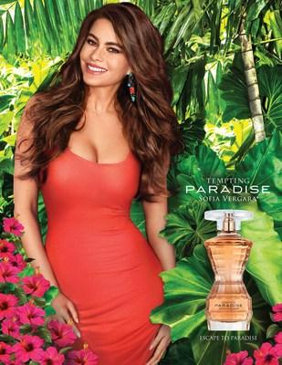 Campaña para Tempting Paradise de Sofia Vergara
