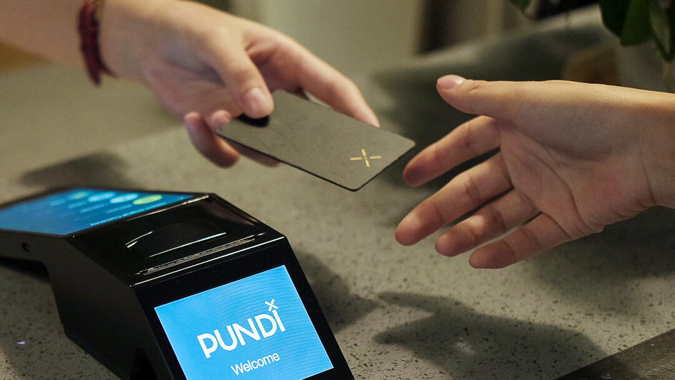 Pundi X POS is the world's first and smallest blockchain-based point-of-sales terminal.