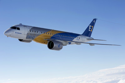Pratt & Whitney and Embraer are celebrating a significant milestone as the E190-E2 aircraft receives Type Certification from three regulatory agencies, the Agência Nacional de Aviação Civil (ANAC) in Brazil, the U.S. Federal Aviation Administration (FAA) and from the European Aviation Safety Administration (EASA).