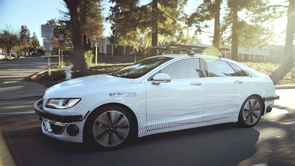 SF Motors Pushes Forward on its Autonomous Ambitions, Deploying Advanced Research and Test Vehicles Across Silicon Valley