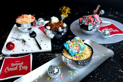 Kellogg's® celebrates National Cereal Day with fans around the world with several unique cereal-inspired recipes.