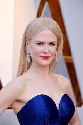 Nicole Kidman Wears Platinum Jewelry to the Academy Awards #BePlatinum